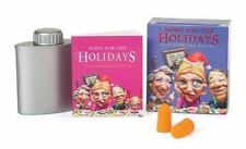 Kit Mini, Home For the Holidays Surviving the Family! FUNNY Humor Earplugs FLASK