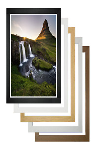 Bespoke Any Size Photo Picture Frame Wall Hanging Poster Frame Acrylc Glass