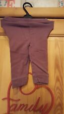 baby girls brown leggings size 6/9 months by o kids