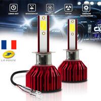 H1 Kit Ampoule de phare de conversion CREE LED pour voiture 110W 6000K 20000LM