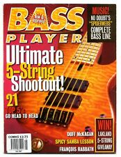 BASS PLAYER Magazine Vintage back issue January 1997 Duff McKagan Francois