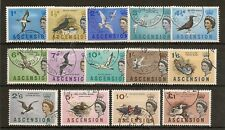 ASCENSION 1963 BIRDS TO £1 SG70/83 FINE USED