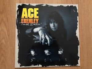 Ace Frehley Trouble Walkin' 1989 KISS EU Version EX condition