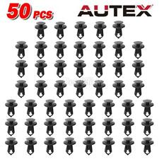 50pcs Fits For GM Push Type Bumper Grille Radiator Retainer Clips Fasteners