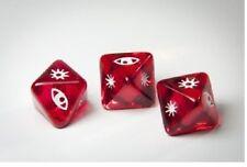 Dados X-Wing Miniaturas dados rojos claro ataque x 3
