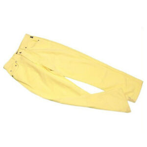 Versace Jeans denim Yellow Silver Woman unisex Authentic Used C3099