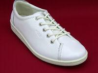 ECCO SOFT Weiß Damen Schuhe Sneaker Ballerinas Slipper Halbschuhe Gr 38