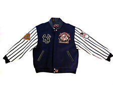 JH DESIGN Leather Jacket L 1996 New York Yankees World Series CHAMPIONS