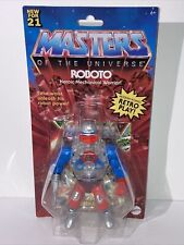 New ListingMattel Retro Play Masters Of The Universe Roboto New For 2021