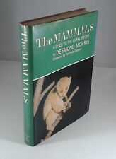 """""""The Mammals"""" by Desmond Morris. Hardcover + DJ First Edition 1965 Nature"""
