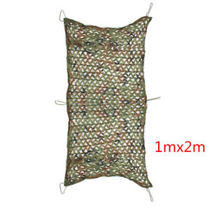 6.5ft Camo Netting Woodland Military Camouflage Mesh Netting for Camping