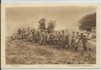 CPA-10 - Camp de Mailly - Cavalerie - Les Mitrailleurs en manoeuvres