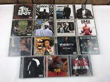 Lot of 15 Rap/ Hip-Hop CD Lot Jay Z, DMX, Ludacris, Chingy, T.I., E-40, Outkast