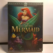 THE LITTLE MERMAID (2 DVD DISC 2013)DIAMOND EDITION:.NEW WITH SLIP CASE:SALE: