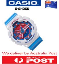"New ""LIMITED EDITION"" Casio G-Shock GA-110AC-7A Blue Red Analogue-Digital Watch"
