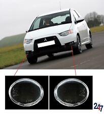 NEU Mitsubishi Colt 2004 - 2012 Vordere Nebelleuchte Nebelscheinwerfer Glas Paar