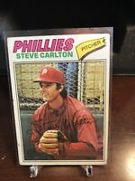 1977 Topps Steve Carlton Philadelphia Phillies #110 Baseball Card