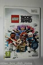LEGO ROCKBAND GIOCO USATO OTTIMO  NINTENDO Wii EDIZIONE ITALIANA GD1 36701