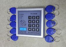 125KHz ID Card Key Tag Reader RFID Proximity Door Access system with Keypad EM
