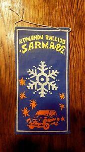 "Autorally Rally ""Sarma"" 82 Pennant"