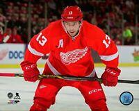 "Pavel Datsyuk Detroit Red Wings NHL Action Photo (Size: 8"" x 10"")"
