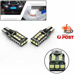 For Ford Rear Tail Light LED Reverse Lights White 3030 T15 921 W16W 2PCS