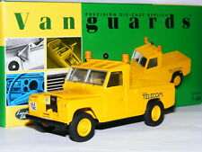 Vanguards VA07603 1967 Land Rover Pick-Up British Telecom LTD ED 1/43