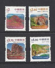China Hong Kong 2018 COIL Definitive stamp Landscapes Global Geopark