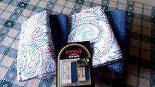 Asciugamani BASSETTI set bagno 2 + 2 puro cotone zucchi lavandino bidet