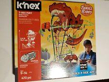 Knex Thrill Rides T-Rex Fury Roller Coaster Motorized Track K'nex Building Set