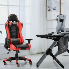 JL Comfurni Classic Series Racing Gaming Office Chair Recliner Swivel Leather