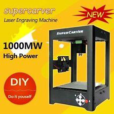 SuperCarver 1000mW Laser Engraver Printer Cutter Carver DIY Engraving Machine UK