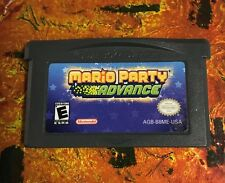 Mario Party Advance (Nintendo Game Boy Advance, 2005) GBA CLEANED TESTED