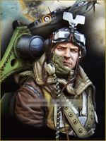 1/10 resin figure bust model kit Dunkirk British pilots bust 137