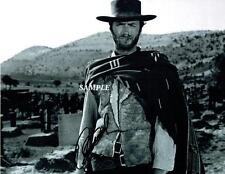 CLINT EASTWOOD #1 REPRINT AUTOGRAPHED 8X10 SIGNED PICTURE PHOTO COLLECTIBLE RP