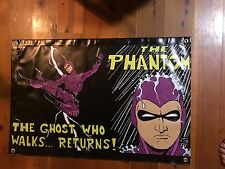 The phantom poster  flag tough vinyl print marvel comics The phantom MAN CAVE