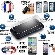 Protection Ecran Verre Trempé Contre les Chocs pour HTC Desire 820