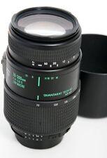 Quantaray 70-300mm f4.5-5.6D Lens Nikon AF Mount - Tech 10 version
