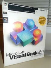 Microsoft Visual Basic 6.0 6 Enterprise 361-00667 for Windows PRO 2000 XP 7 8 10