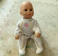 """My First Baby Annabell Doll 14"""" inch Talking Moving Crawling Vintage"""