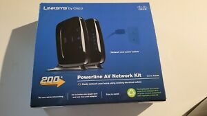 Pre-Owned Linksys Powerline AV Network Kit #PLK300 - NO RESERVE