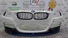 2013 -2017 BMW 3 SERIES F30 M SPORT PERFORMANCE - GENUINE FRONT BUMPER