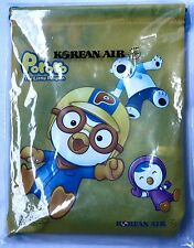 Pororo The Little Penguin Travel Bag Coloring Book & Pencils Korean Air New