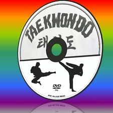 TAEKWONDO SELF DEFENCE TRAINING GUIDE MARTIAL ARTS FOR BEGINNERS VIDEO DVD NEW