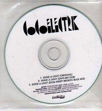 (CI150) Coco Electrik, Shine A Light - 2009 DJ CD