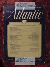 ATLANTIC November 1946 LOUIS N RIDENOUR FRANCIS W DAHL Atomic Bomb tests +++