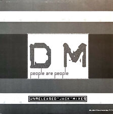 """Depeche Mode 12"""" People Are People (Unreleased """"Jack"""" Mixes) (M/M)"""