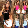 Summer Women's Sexy Vest Top Sleeveless T-Shirt Casual Tank Tops Blouse Cami#