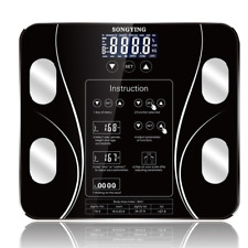 Balanza Digital Bathroom Scale Bmi Smart Weighing Body Fat Floor Lcd Electronic