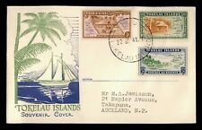 DR WHO 1948 TOKELAU ISLANDS FDC PICTORIAL  C233241